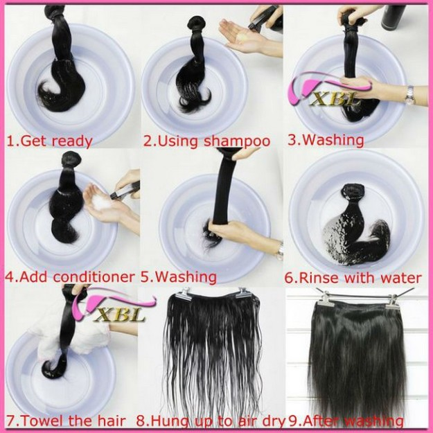 How To Wash Human Hair Weave Fashion And Beauty World